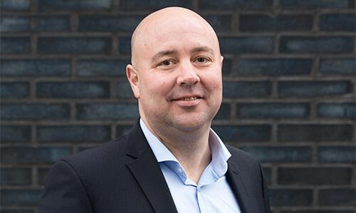 Xander Hartevelt, consultant bij Grip op finance